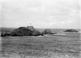 Muckle Flugga Lighthouse and the Outstack