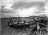 Construction of the fishmarket quay
