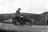 Man on Motorcycle