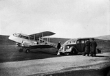 DeHavilland Rapide, Sumburgh Airport.