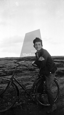 Douglas Anderson on bicycle