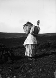 Woman with Kishie of peats