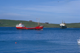 Ships in Lerwick Harbour