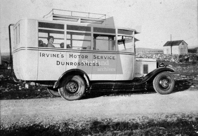 Bus, Dunrossness
